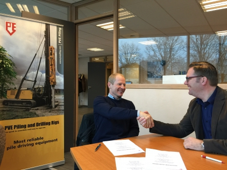 PVE Piling and Drilling Rigs B.V. and Lesanco ApS signs partnership