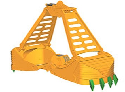 Plastic Sheet Pile Vibratory Hammer Pile Driving Vibration