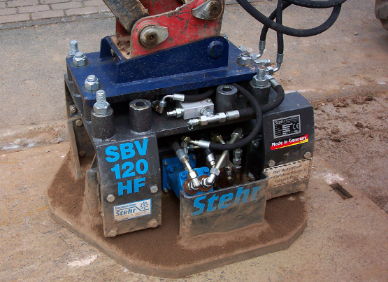 Stehr Plate Compactor for Excavators