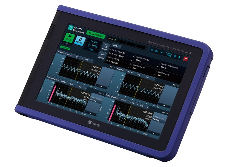 RIONOTE Multi Channel Sound And Vibration Analyzer