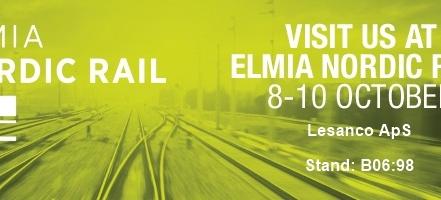 Meet us at Nordic Rail 2019